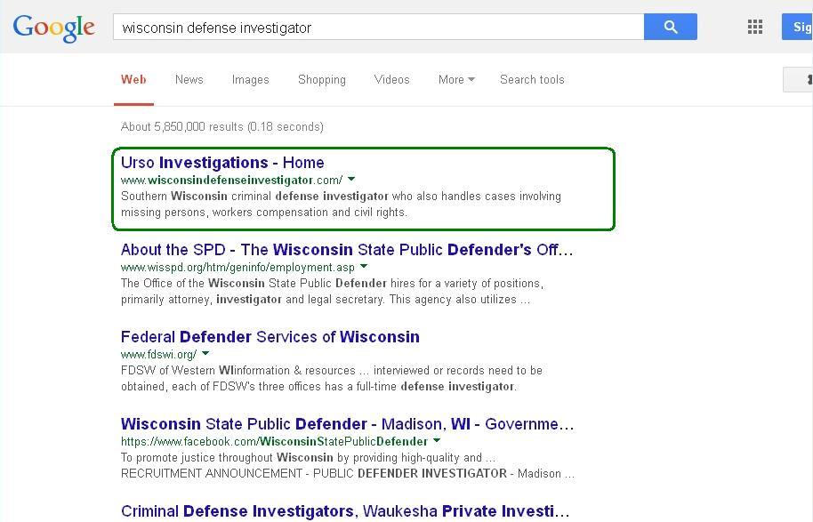 #1 in Google